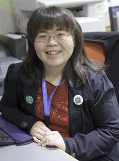 Mary Wu, kidney transplant recipient and organ donation advocate