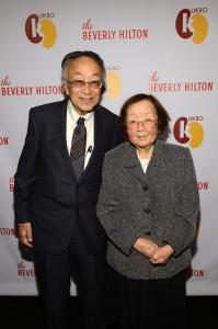 Dr. Paul Terasaki and Hisako Terasaki