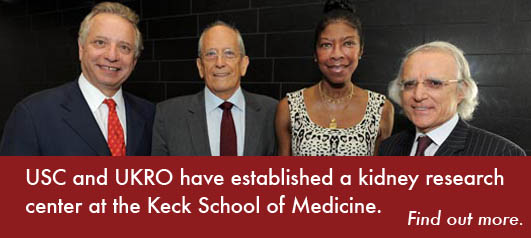 USC and UKRO Establish Kidney Research Center at Keck School of Medicine