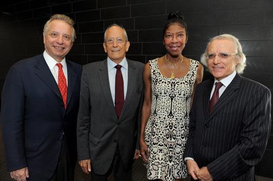 Dean Puliafito, Ken Kleinberg, Natalie Cole, Dr. Vito Campese