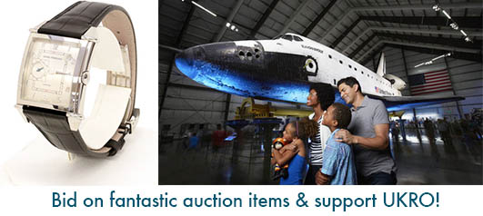 Online Auction - Girard-Perregaux Watch & VIP Space Shuttle Package