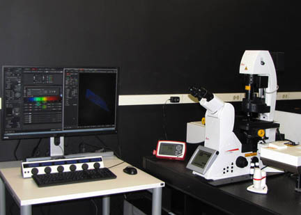 Multiphoton confocal microscope