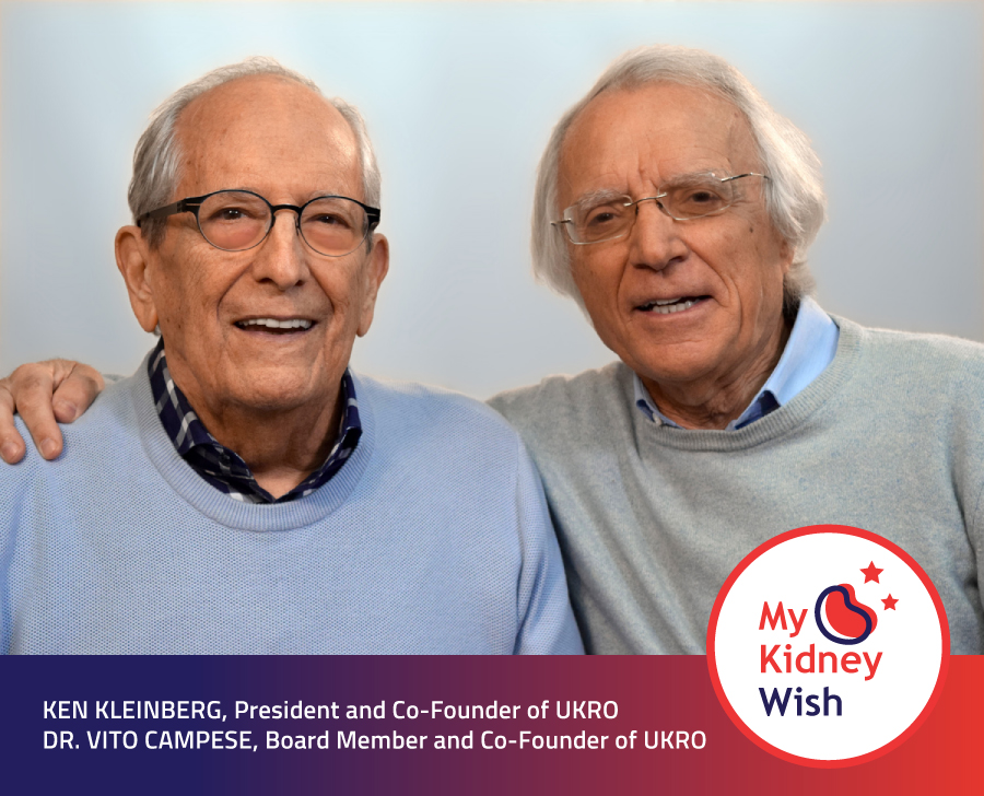 Ken Kleinberg and Dr. Vito Campese